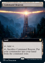 Command Beacon - Foil - Extended Art