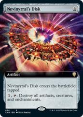 Nevinyrral's Disk - Foil - Extended Art