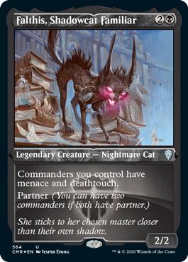 Falthis, Shadowcat Familiar - Foil Etched