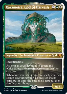 Karametra, God of Harvest - Foil Etched
