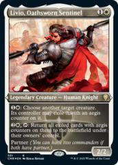 Livio, Oathsworn Sentinel - Foil Etched