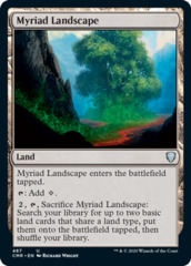 Myriad Landscape - Theme Deck Exclusive