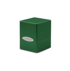 Ultra Pro Deck Box: Forest Green Satin Cube