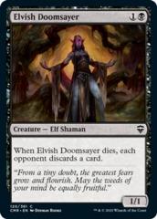 Elvish Doomsayer - Foil