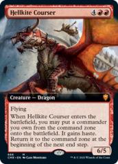 Hellkite Courser - Foil - Extended Art