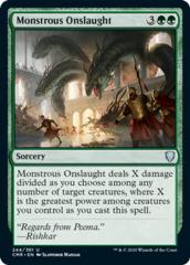 Monstrous Onslaught - Foil