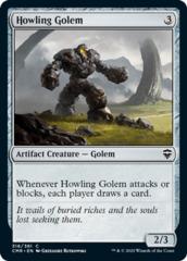 Howling Golem - Foil