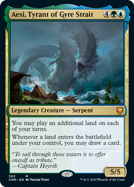 Aesi, Tyrant of Gyre Strait - Foil - Theme Deck Exclusive