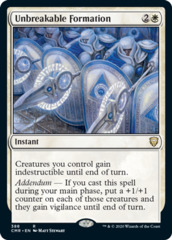 Unbreakable Formation - Theme Deck Exclusive
