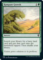 Rampant Growth - Theme Deck Exclusive