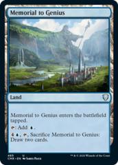 Memorial to Genius