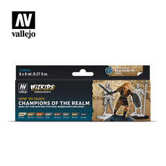 WizKids Paint Sets - Champions of the Realm - VAL80250