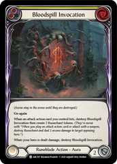 Bloodspill Invocation (Yellow) - Unlimited Edition
