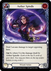 Aether Spindle (Yellow) - Rainbow Foil - Unlimited Edition