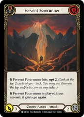 Fervent Forerunner (Red) - Unlimited Edition