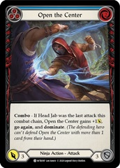 Open the Center (Blue) - Rainbow Foil - Unlimited Edition