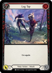Leg Tap (Red) - Rainbow Foil - Unlimited Edition
