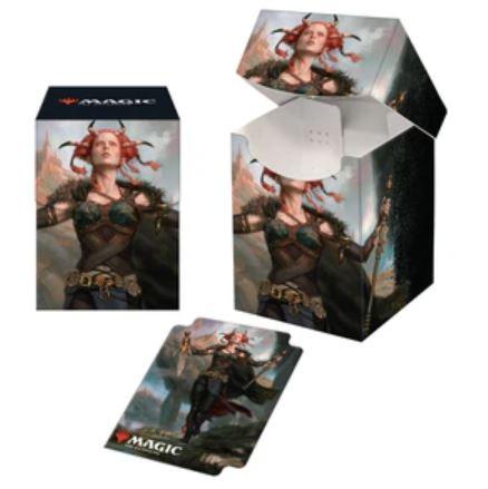 Ultra Pro - Commander Legends Jeska, Thrice-Reborn PRO 100+ Deck Box & Sleeves Combo