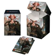 Ultra Pro - Commander Legends Jeska, Thrice-Reborn PRO 100+ Deck Box & Sleeves Combo