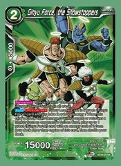 Ginyu Force, the Showstoppers - EX14-03 - EX - Foil