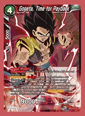 Gogeta, Time for Payback - EX15-01 - EX - Foil