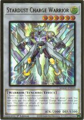 Stardust Charge Warrior - MAGO-EN029 - Premium Gold Rare - 1st Edition