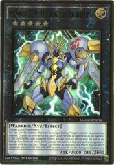 Number S39: Utopia the Lightning - MAGO-EN034 - Premium Gold Rare - 1st Edition