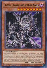 Grapha,  Dragon Lord of Dark World - MAGO-EN118 - Rare - 1st Edition