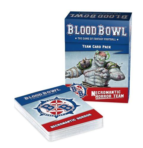 Blood Bowl Necromantic Team Cards