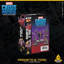 Marvel: Crisis Protocol - Magneto & Toad (CP 42)
