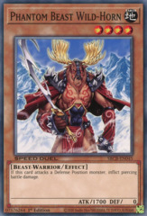 Phantom Beast Wild-Horn - SBCB-EN045 - Common - 1st Edition