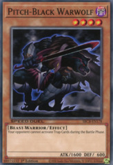 Pitch-Black Warwolf - SBCB-EN178 - Common - 1st Edition