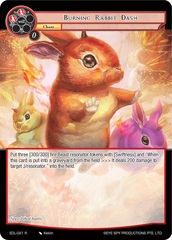 Burning Rabbit Dash - EDL-021 - R
