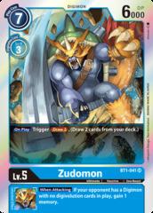 Zudomon - BT1-041 - SR