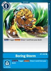 Boring Storm - BT1-097 - C