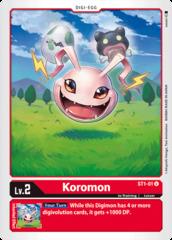Koromon - ST1-01 - U
