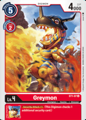 Greymon - ST1-07 - U