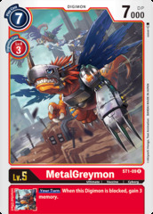 MetalGreymon - ST1-09 - R