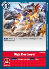Giga Destroyer - ST1-15 - C