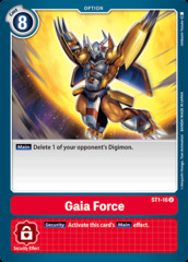 Gaia Force - ST1-16 - U