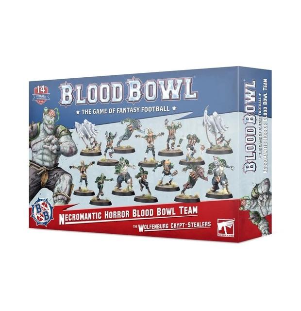 Blood Bowl: Necromantic Horror Team: The Wolfenburg Crypt-Stealers