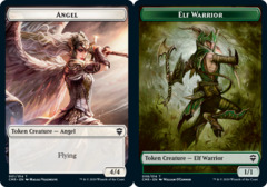 Angel Token // Elf Warrior Token - Foil