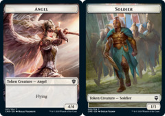 Angel Token // Soldier Token - Foil