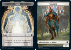 Copy Token // Soldier Token - Foil
