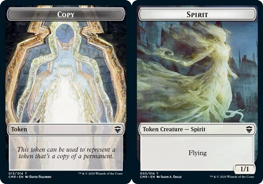 Copy Token // Spirit Token - Foil