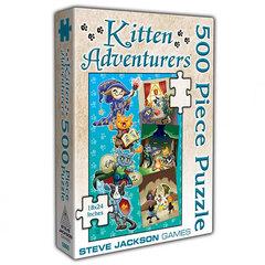 Kitten Adventurers 500pc Puzzle