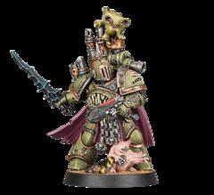 Space Marines - Plague Champion Gangrus