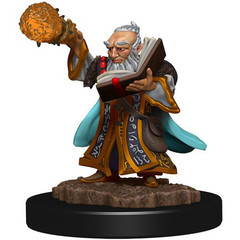D&D Premium Painted Figure: W5 Male Gnome Wizard