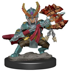 D&D Premium Painted Figure: W5 Female Halfling Fighter