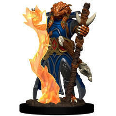 D&D Premium Painted Figure: W4 Female Dragonborn Sorcerer